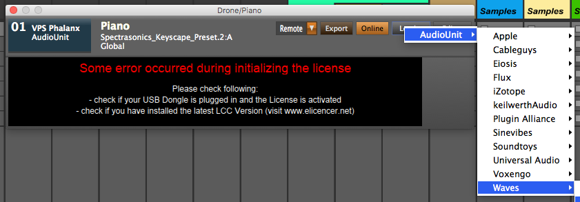 Sounds / VST handling a real mess in synfire   Cognitone Users